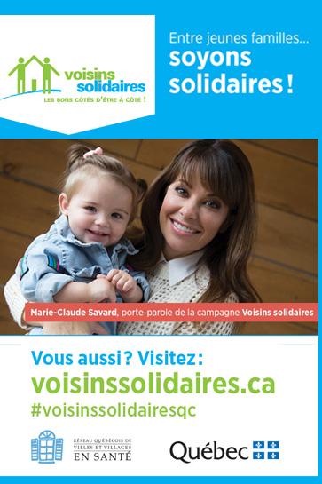 Porte-parole pour Voisins solidaires